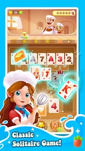 Cooking Solitaire Mod Apk 1.2.44 (A Large Amount of Currency) 3