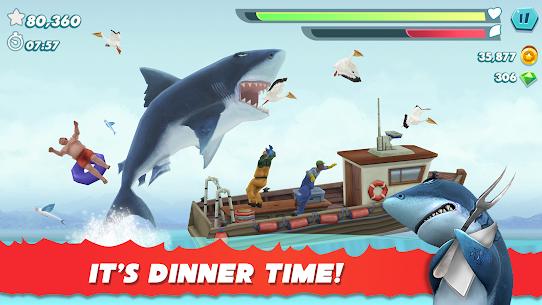 Hungry Shark Evolution Mod Apk 2021 (Unlimited Coins/Gems) 1