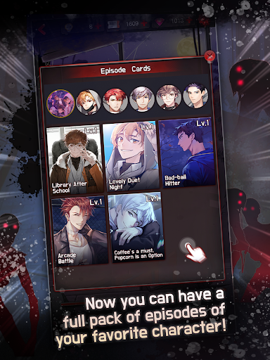 Dangerous Fellows:your Thriller Otome game Apkfinish screenshots 10