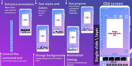 Animated Text Creator - Text Animation video maker 4.0.9 Screenshots 3