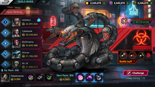 Battle Night: Cyber Squad-Idle RPG  screenshots 7