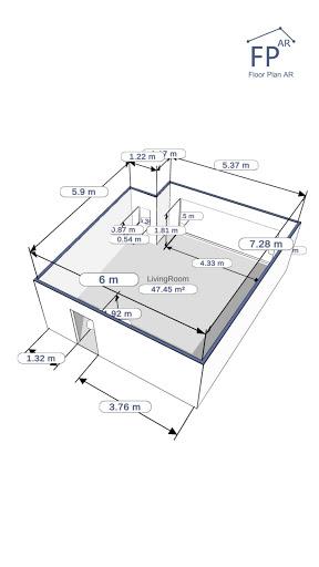 Floor Plan AR   Room Measurement 12.7 Screenshots 11