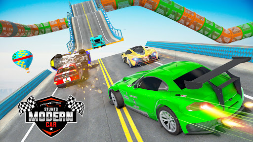 Mega Ramp Car Racing Stunts 3D : Stunt Car Games android2mod screenshots 1