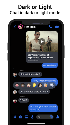 Messenger SMS & MMS android2mod screenshots 9