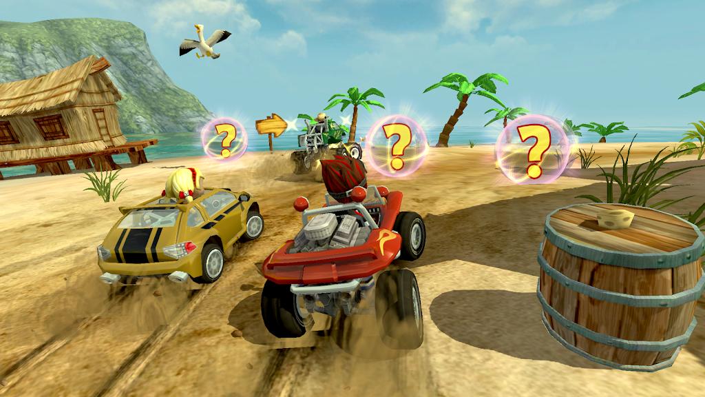 Beach Buggy Racing poster 2