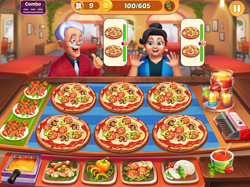 Cooking Crush: New Free Cooking Games Madness Apkfinish screenshots 10
