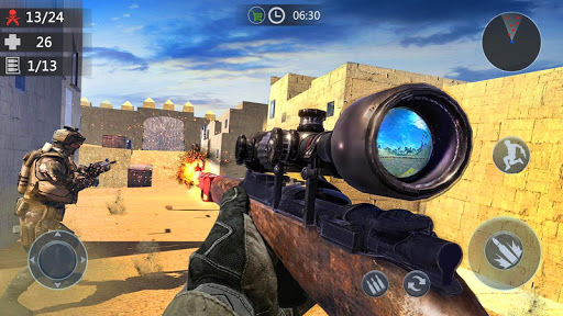 Gun Strike: Encounter Shooting Game- Sniper FPS 3D 2.0.3 screenshots 1