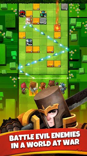 Battle Bouncers - RPG Puzzle Bomber & Crusher 1.12.0 screenshots 1