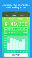 Pedometer - Free Step Counter App & Step Tracker
