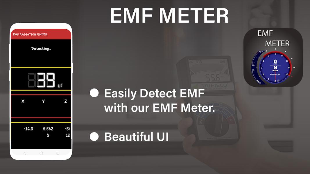 New EMF Detector: EMF Meter - EMF Radiation Finder