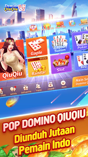 Domino QiuQiu 2020 - Domino 99 · Gaple online 1.16.0 screenshots 1