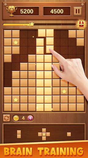 Wood Block Puzzle - Classic Brain Puzzle Game 1.5.9 screenshots 4
