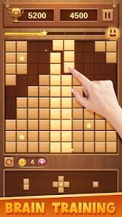 Wood Block Puzzle – Classic Brain Puzzle Game Apk Download 2021 4