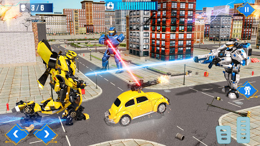 Télécharger Gratuit Robot war: Robot Shooting Fps counter war APK MOD (Astuce) screenshots 1