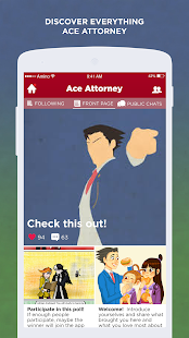 Phoenix Amino for Ace Attorney