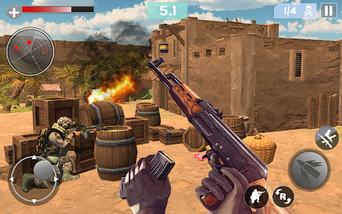 Critical Modern Strike 2021- FPS Shooter Game Hack Cheats (iOS & Android) 5