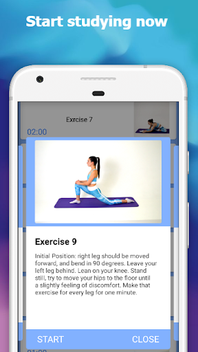 Stretching: how to sit on the splits in 30 days  Screenshots 3