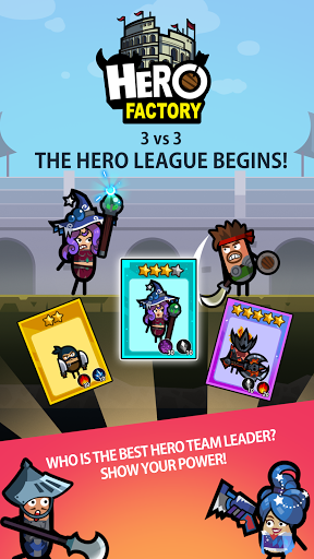 Hero Factory - Idle Factory Manager Tycoon 2.9.2 screenshots 1