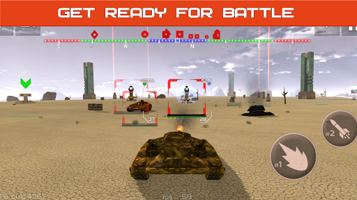 Tank Combat : Iron Forces Battlezone APK MOD – ressources Illimitées (Astuce) screenshots hack proof 2