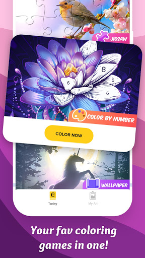 Colorscapes Plus - Color by Number, Coloring Games 2.2.0 screenshots 1