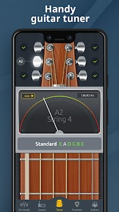 Chromatic Guitar Tuner Free: Ukulele, Bass, Violin Screenshot