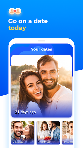 Dating with singles nearby - iHappy 1.0.47 Screenshots 1