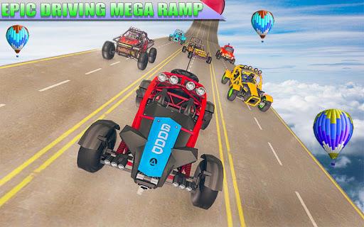 Superhero Buggy GT Mega Ramp Stunts Free 1.1 Screenshots 4