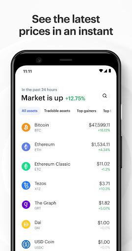 Coinbase – Buy & Trade Bitcoin, Ethereum & more  screenshots 5