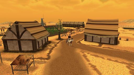 horse simulator 2021 - wild horse games free screenshot 2