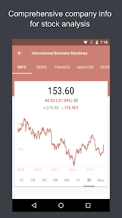 JStock - Stock Market, Watchlist, Portfolio & News Screenshot