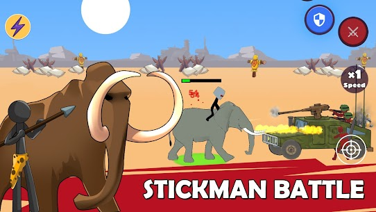 Age of Stickman Battle of Empires Mod Apk 1.0 (Inexhaustible Currency) 3