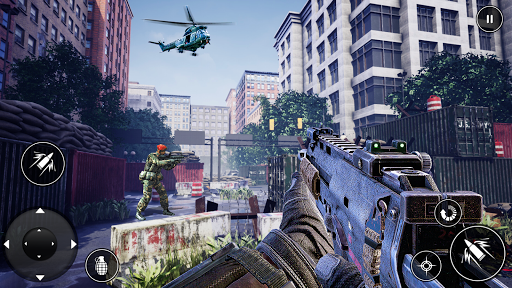 new action games  : fps shooting games screenshots 1