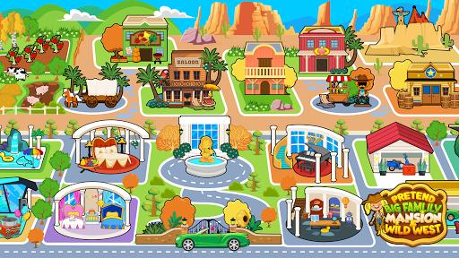 My Pretend Family Mansion - Big Friends Dollhouse  screenshots 2