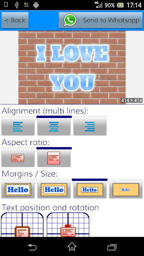 TextArt u2605 Cool Text creator 1.2.2 Screenshots 12