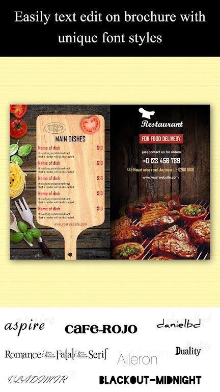 Brochure Maker - Pamphlets, Infographics, Catalog  poster 5