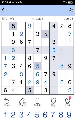 Sudoku - Free Sudoku Game 1.1.4 screenshots 4