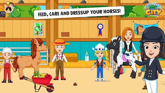 Free My City  Star Horse Stable 2