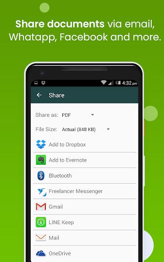 Clear Scan: Free Document Scanner App,PDF Scanning 5.3.0 Screenshots 6
