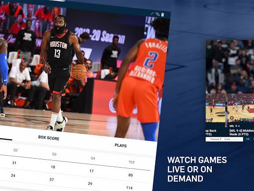 NBA: Live Games & Scores screenshots 13