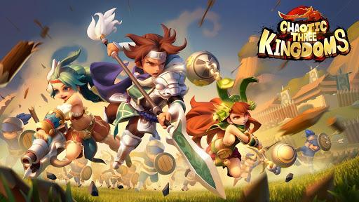 Code Triche Chaotic Three Kingdoms: Epic heroes war APK MOD (Astuce) screenshots 1