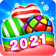 APK Sweet Candy Puzzle: Crush & Pop Free Match 3 Game