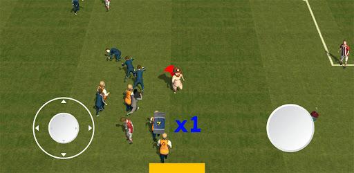 Fat football run! 3d game! Fan on a field! hack tool