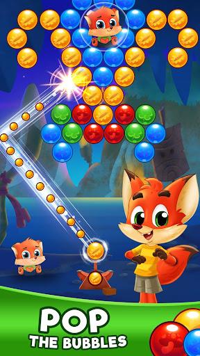 Bubble Friends Bubble Shooter Pop modiapk screenshots 1