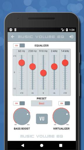Music Volume EQ u2014 Equalizer, Amplifier, Bass Boost apktram screenshots 4