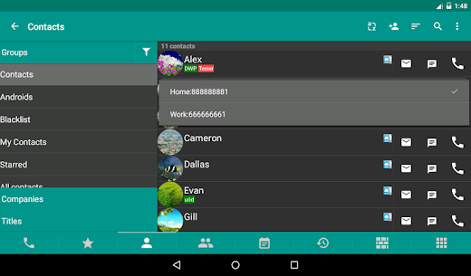 DW Contacts & Phone & SMS MOD APK (Unlocked) Download 9