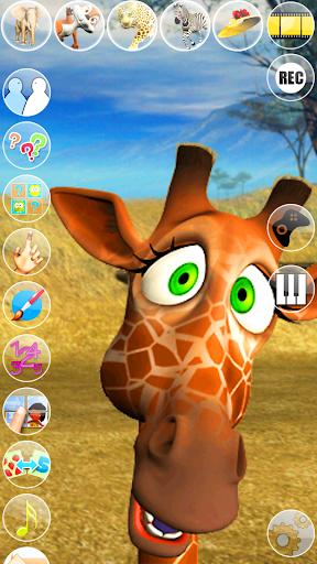 Talking George The Giraffe modiapk screenshots 1