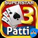 Teen Patti Superstar - 3 Patti Online Poker Gold