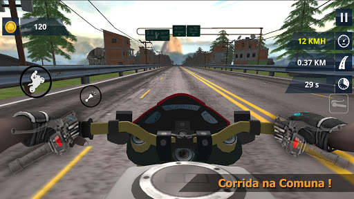 Bike wheelie Simulator - MGB  screenshots 6