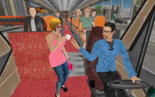 Public Coach Transport: Bus Driving Simulator android2mod screenshots 9