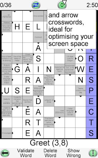 Barred Crossword 3.0.3 screenshots 19